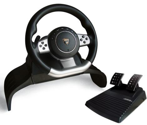 acheter volant lamborghini gallardo atomic jeux vid o pc ps3 ps2 pc. Black Bedroom Furniture Sets. Home Design Ideas