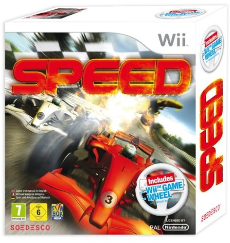 acheter speed volant jeux vid o wii course. Black Bedroom Furniture Sets. Home Design Ideas