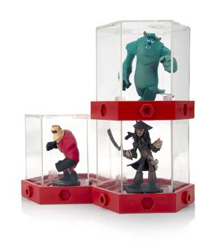 acheter disney infinity boite d 39 exposition pour figurines x3 jeux vid o wii. Black Bedroom Furniture Sets. Home Design Ideas