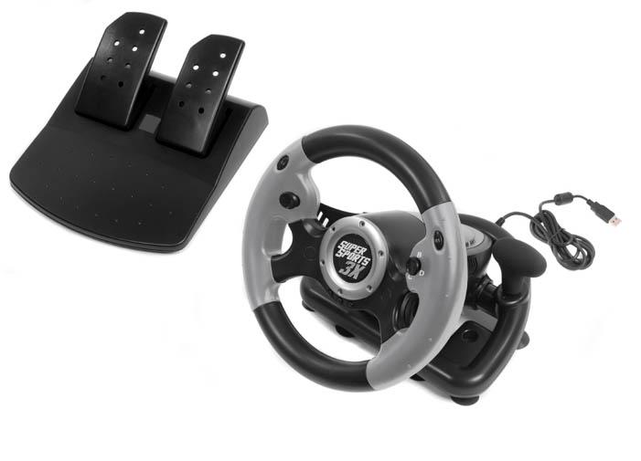acheter volant super sports 3x jeux vid o x360 ps3 pc accessoires. Black Bedroom Furniture Sets. Home Design Ideas