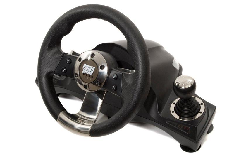acheter volant power racer 270 sans fil jeux vid o x360 xbox 360. Black Bedroom Furniture Sets. Home Design Ideas